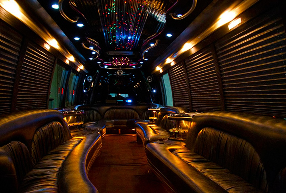 Luxury Party Bus Interior 1 A1a Limousine
