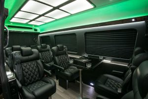 MB Sprinter Executive w table green lighting no logo