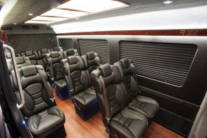 Sprinter Interior Leather Seats blinds no logo