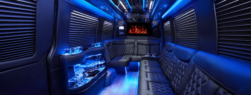 Luxury Limo Interior