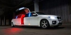 Hiring a limousine