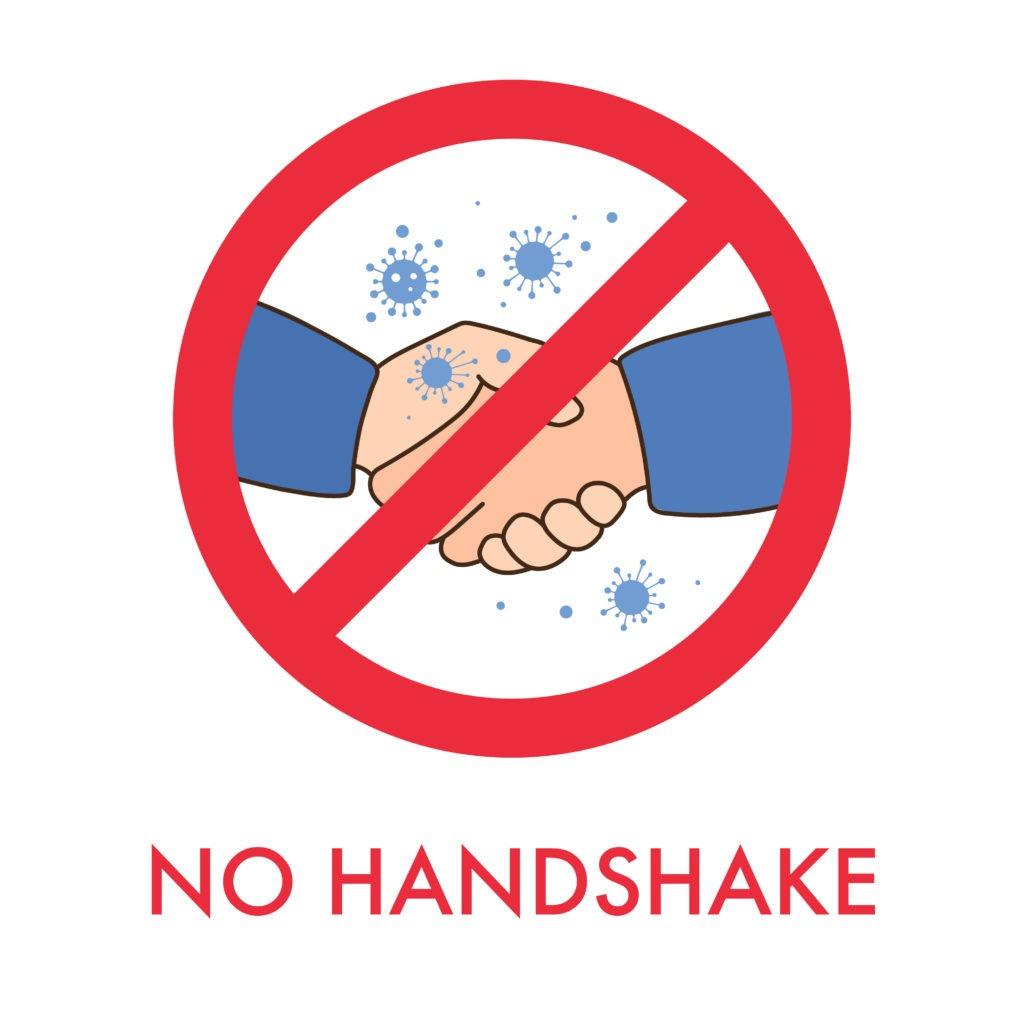 COVID No Handshake